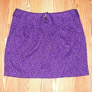 NWOT..Vintage Lush Purple Skirt